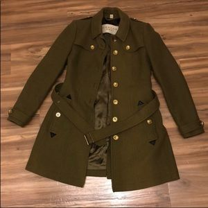 Burberry Brit Trench Coat Size 8 AUTHENTIC